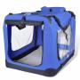 Transportbur för djur XL blå