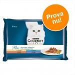 Blandat provpack: Gourmet 4 x 85 g - A la Carte: Kyckling, Öring, Nötkött + Sej