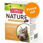 Blandpack: Schmusy Nature Mini Köttgryta 6 x 50 g - Kötturval