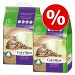 Ekonomipack: Cat's Best kattsand till lågt pris! - Nature Gold (2 x 20 l)