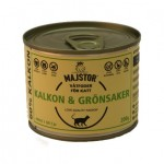 Majstor Kalkon & Grönsaker Våtfoder 200g