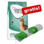 Stor påse Concept for Life torrfoder + kattunnel - British Shorthair 9 kg