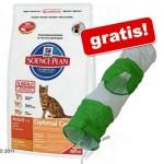 10 kg Hill's Feline + lektunnel för katter på köpet! - Mature Adult 7+ Chicken
