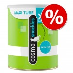 Cosma Snackies XXL Maxi Tube till SPECIALPRIS! - Vitfisk 110 g