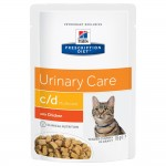 Hill's Prescription Diet Feline c/d Multicare Chicken - Ekonomipack: 48 x 85 g