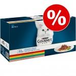 Just nu! Blandpack Gourmet Perle 60 x 85 g till rabattpris! - Kyckling, Nötkött, Lax & Kanin