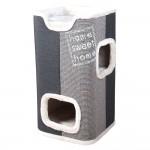 Trixie Cat Tower Jorge klöstunna - antarzit/ ljusgrå/ grå