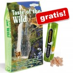 7 kg Taste of the Wild + Cosma Snackies Kyckling på köpet! - Canyon River Feline