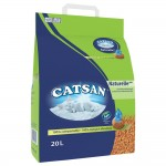 Catsan Naturelle Plus kattsand - 2 x 20 l
