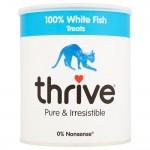 Thrive Maxi Tube White Fish frystorkat godis - Ekonomipack: 2 x 110 g