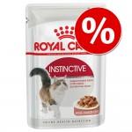 Under en begränsad tid: 86 + 10 på köpet! Royal Canin 96 x 85 g - Instinctive +7 i sås (96 x 85 g)