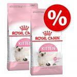 2 x 400 g Royal Canin Kitten torrfoder - Mother & Babycat