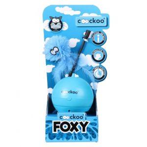 Aktiveringsleksak Coockoo Foxy Blå