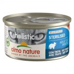 Almo Nature Holistic Specialised Nutrition 6 x 85 g - Sterilised med öring