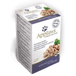 Applaws Kattfoder påse Fågel&Fisk Gelé Multimix 5pack