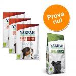 Blandpack: 2 sorters Yarrah Organic hundgodis - 750 g kex + 6 x 33 g tuggpinnar