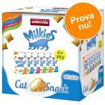Blandpack: Animonda Milkies knaperkuddar - Ekonomipack: 18 x 30 g (4 sorter)