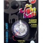 Cat light ball kattleksak