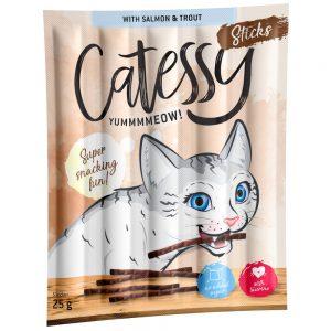 Catessy Bar-B-Q Sticks 10 st - Bar-B-Q med kanin, kalkon & jäst