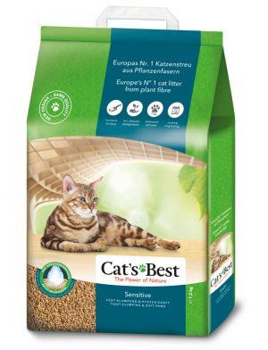 Cats Best Sensitive GreenPower 20 liter