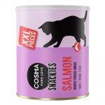 Cosma Snackies XXL Maxi Tube frystorkat kattgodis - Vitfisk 110 g