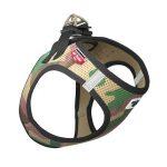 Curli Vest Harness Air Camo Grön, S