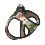 Curli Vest Harness Air Camo Grön, XS