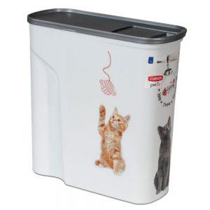 Curver torrfoderbehållare för katt - Upp till 2,5 kg torrfoder