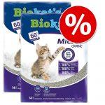 Ekonomipack: 2 eller 3 påsar Biokat's kattsand till sparpris - Micro (2 x 14 l)
