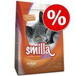 Ekonomipack: 2 x 10 kg Smilla torrfoder till sparpris! - Kitten