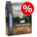 Ekonomipack: 2 x 6 kg Nutrivet Inne Cat - Adult Chicken