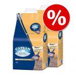 Ekonomipack: 2/3 påsar Catsan kattsand till lågt pris! - Hygiene (2 x 20 l)