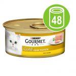 Ekonomipack: Gourmet Gold Fine Paté 48 x 85 g - Kyckling