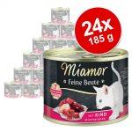 Ekonomipack: Miamor Feine Beute 24 x 185 g - Lax