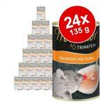 Ekonomipack: Miamor Trinkfein Vitaldrink 24 x 135 ml - Blandpack (12 x Kyckling & 12 x Tonfisk)