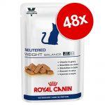 Ekonomipack: Royal Canin Vet Care Nutrition 48 x 100 g - Neutered Senior Stage 1