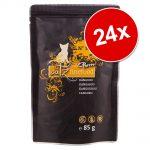 Ekonomipack: catz finefood Purrrr Pouch 24 x 80/85 g - No. 111 lamm