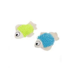 Fisk med kattmynta i plych