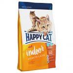Happy Cat Indoor Adult Atlantic Salmon - Ekonomipack: 2 x 4 kg
