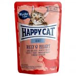 Happy Cat Pouch 12 x 85 g - Meat in Sauce Mix (3 sorter)