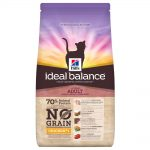 Hill's Ideal Balance Feline Adult No Grain Chicken & Potato - Ekonomipack: 3 x 1,5 kg