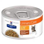 Hill's Prescription Diet c/d Multicare Urinary Care Stew med kyckling kattmat - Ekonomipack: 24 x 82 g
