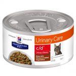 Hill's Prescription Diet c/d Urinary Stress Stew med kyckling - 1 x 82 g
