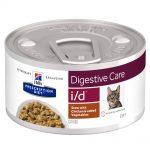 Hill's Prescription Diet i/d Digestive Care Stew med kyckling kattmat - 1 x 82 g