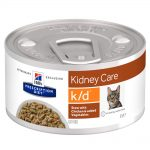 Hill's Prescription Diet k/d Kidney Care Stew med kyckling kattmat - 1 x 82 g