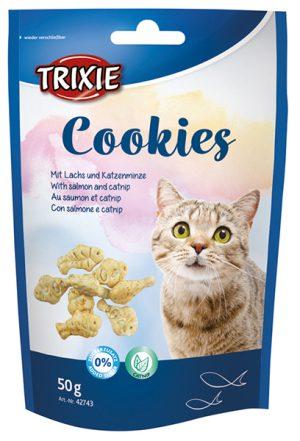 Kattgodis cookies med lax och kattmynta