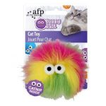 Kattleksak Furry Ball Gul 2805