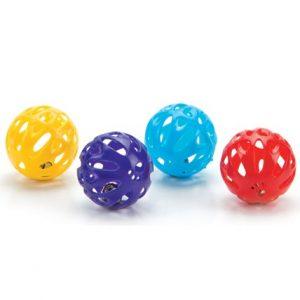 Kattleksak Plastic playing ball Mix