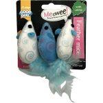 Kattleksaker Meowee Mouse 3-pack