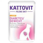 Kattovit Diabetes / Weight Pouch 24 x 85 g - Kyckling 24 x 85 g